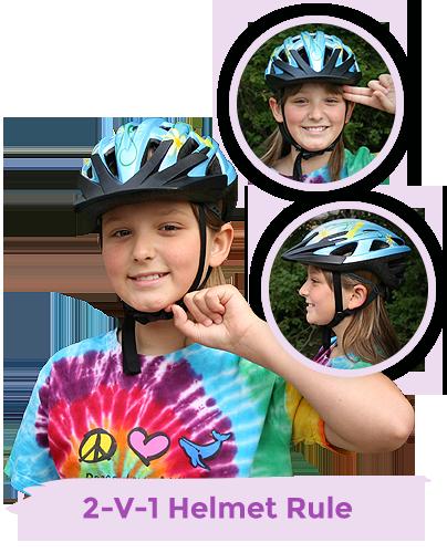 Bike Safety 2-V-1 Helmet Rule