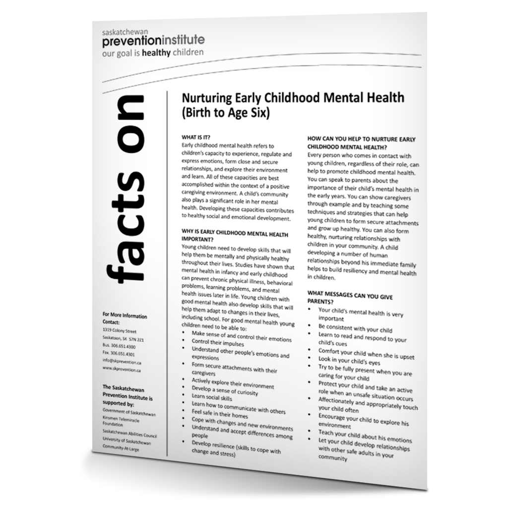 Nurturing Early Childhood Mental Health