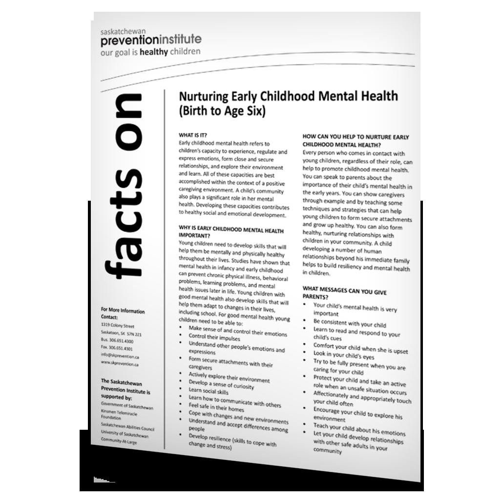 Nurturing Early Childhood Mental Health