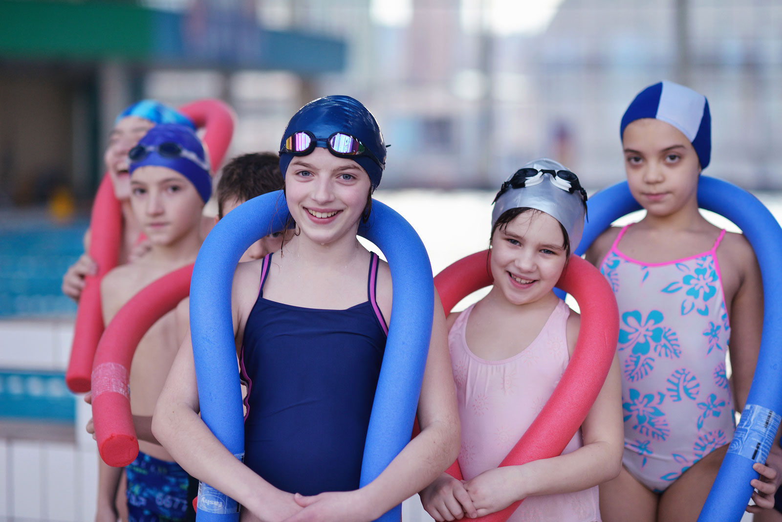 Enroll your children in swimming lessons.