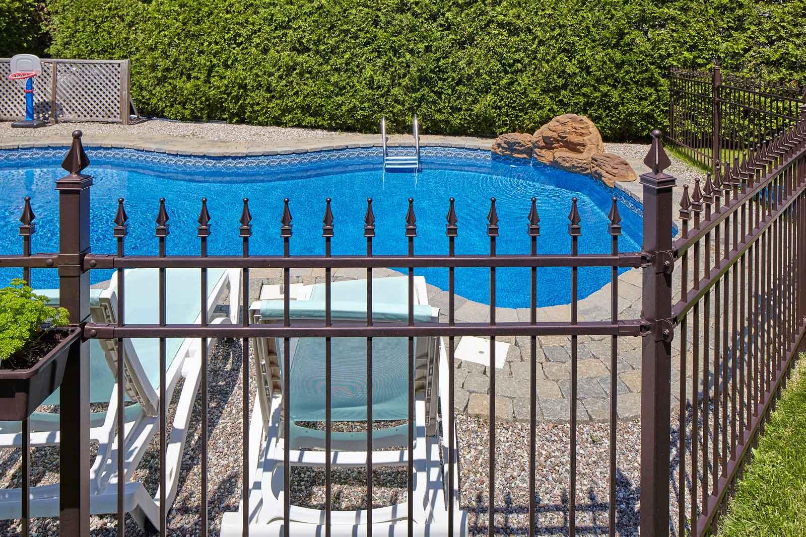 Ensure all backyard pools have fencing