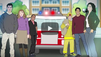 Fire Safety for Families With Children Who Are Visually/Hearing Impaired