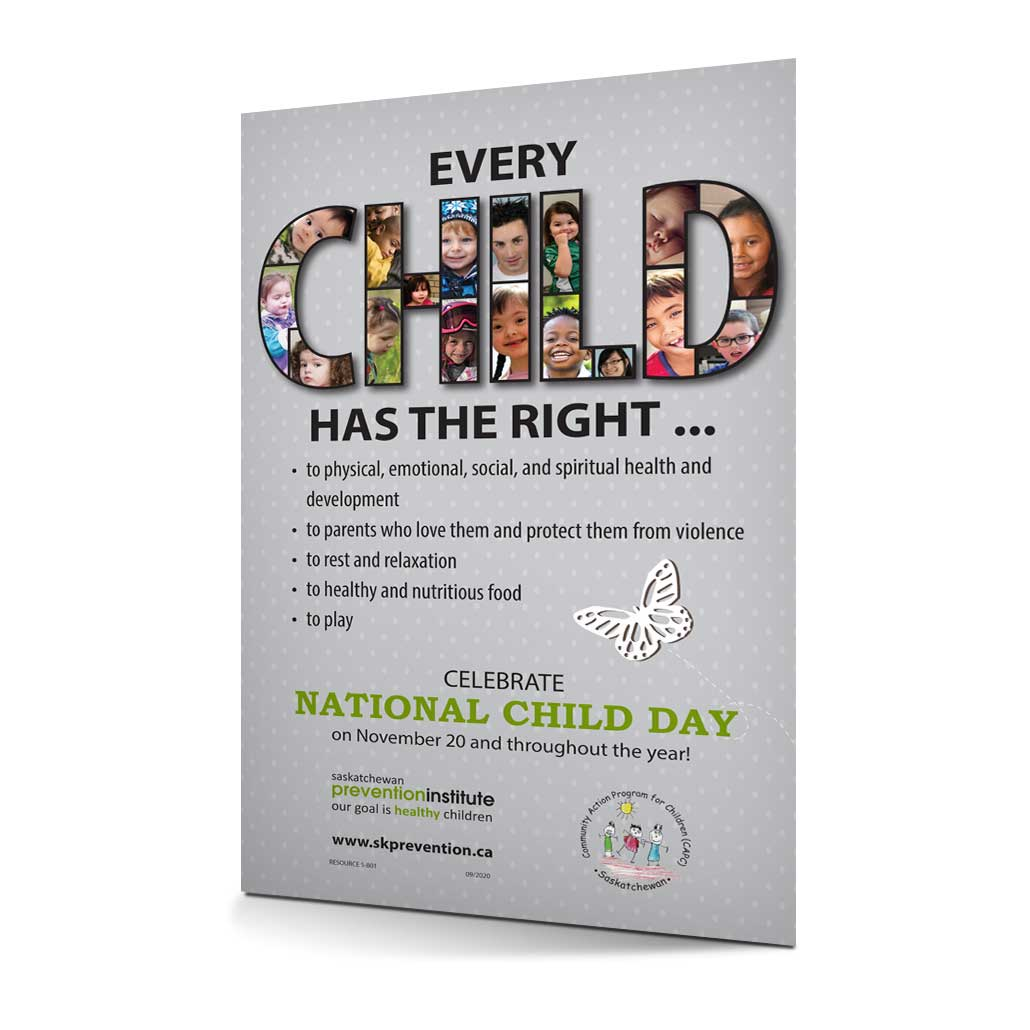 5-801: National Child Day Poster