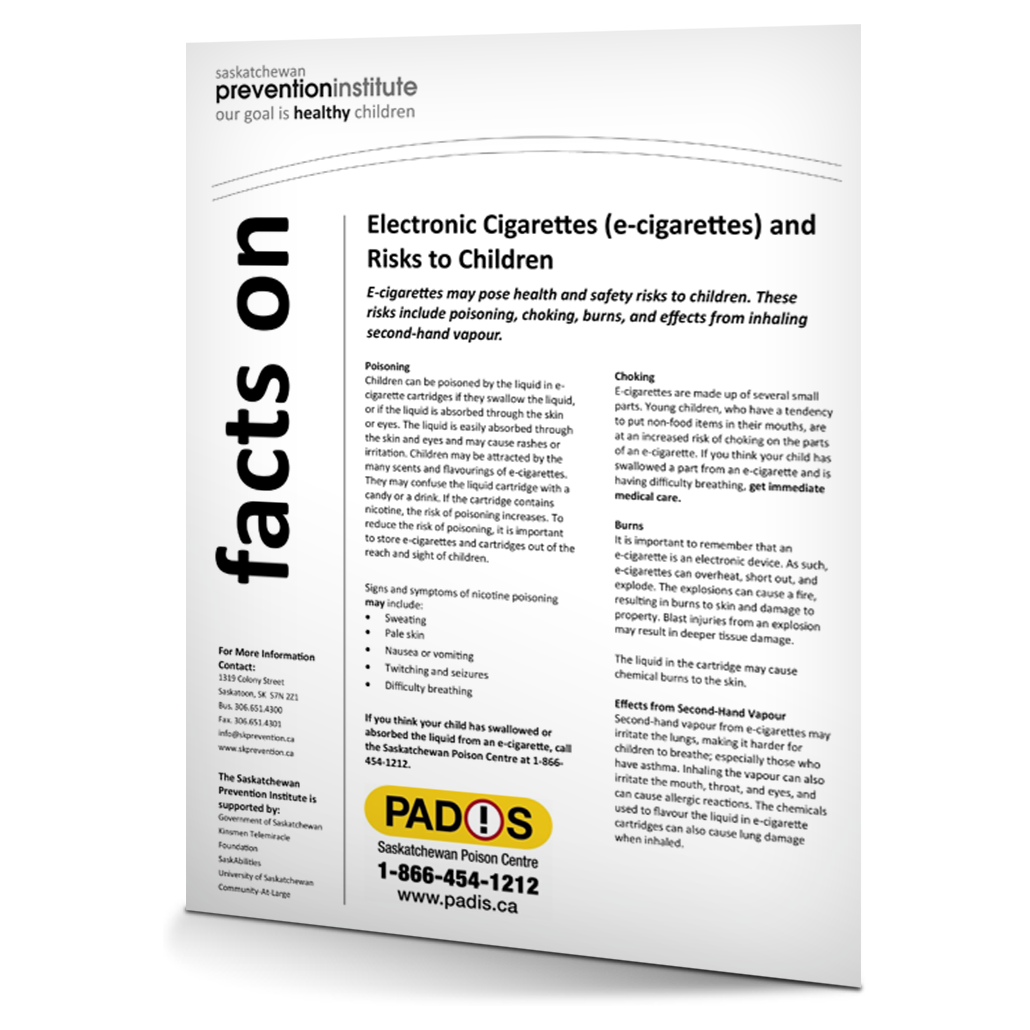 4-301: Electronic Cigarettes (e-cigarettes) and Risks to Children