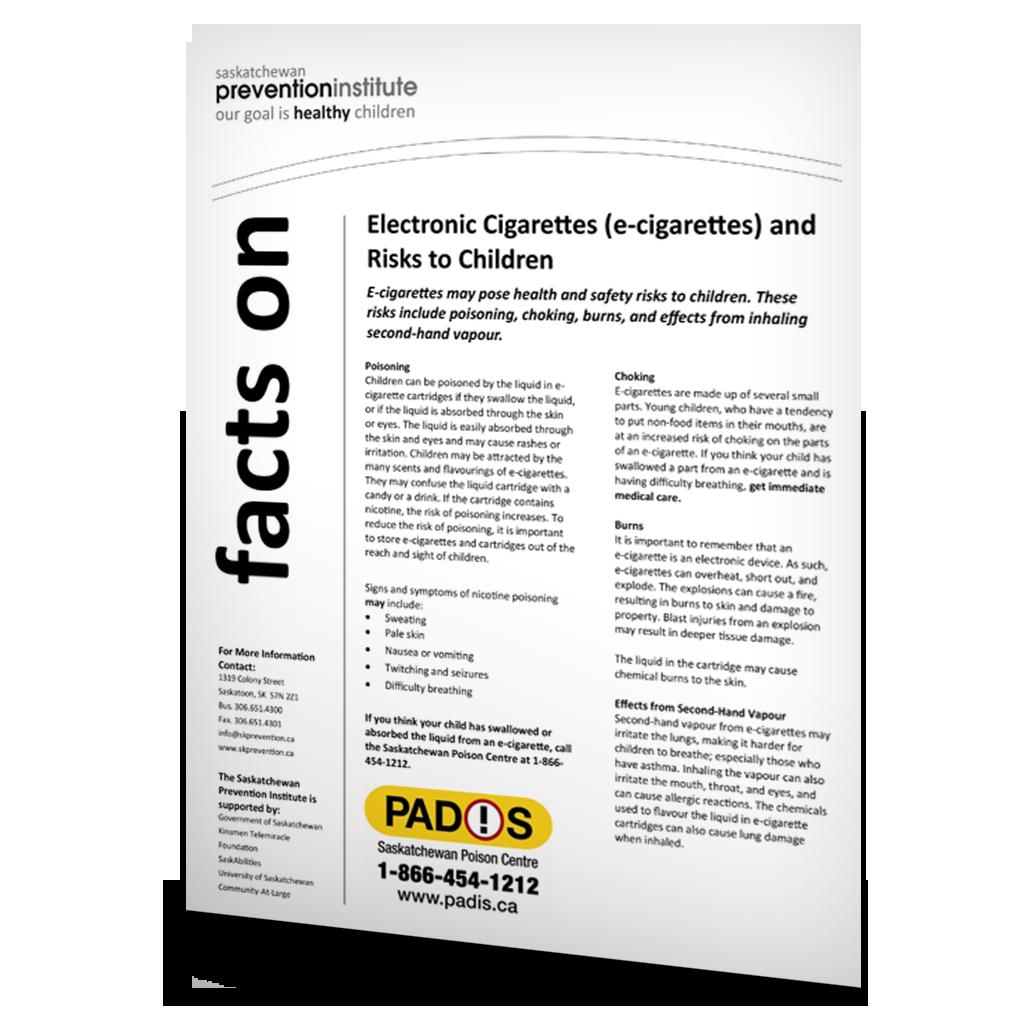 4-301: Electronic Cigarettes (e-cigarettes) and Risks to Children
