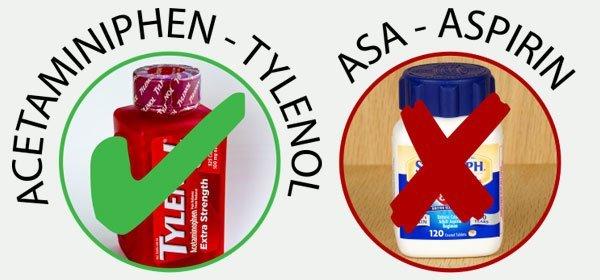 Aspirin vs Tylenol