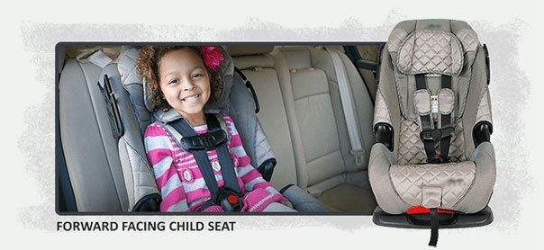 Forward Facing Child Seat