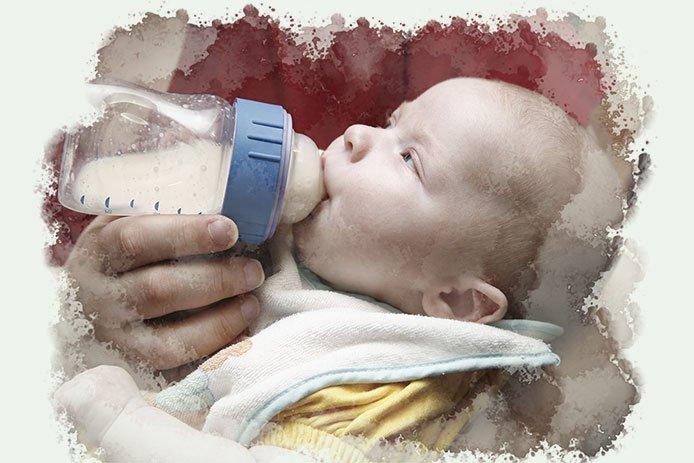 Feeding from a Bottle