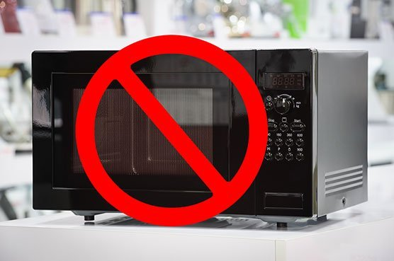 Using the microwave to warm the formula is not recommended.