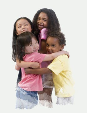 Don't force your child to give a hug to someone if he is uncomfortable