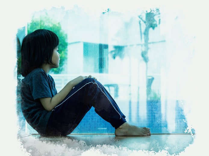 When are young children affected by domestic violence?