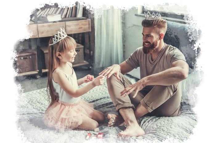 Let your child lead her play time with you