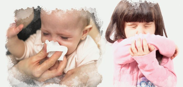 Teach your child to cough and sneeze