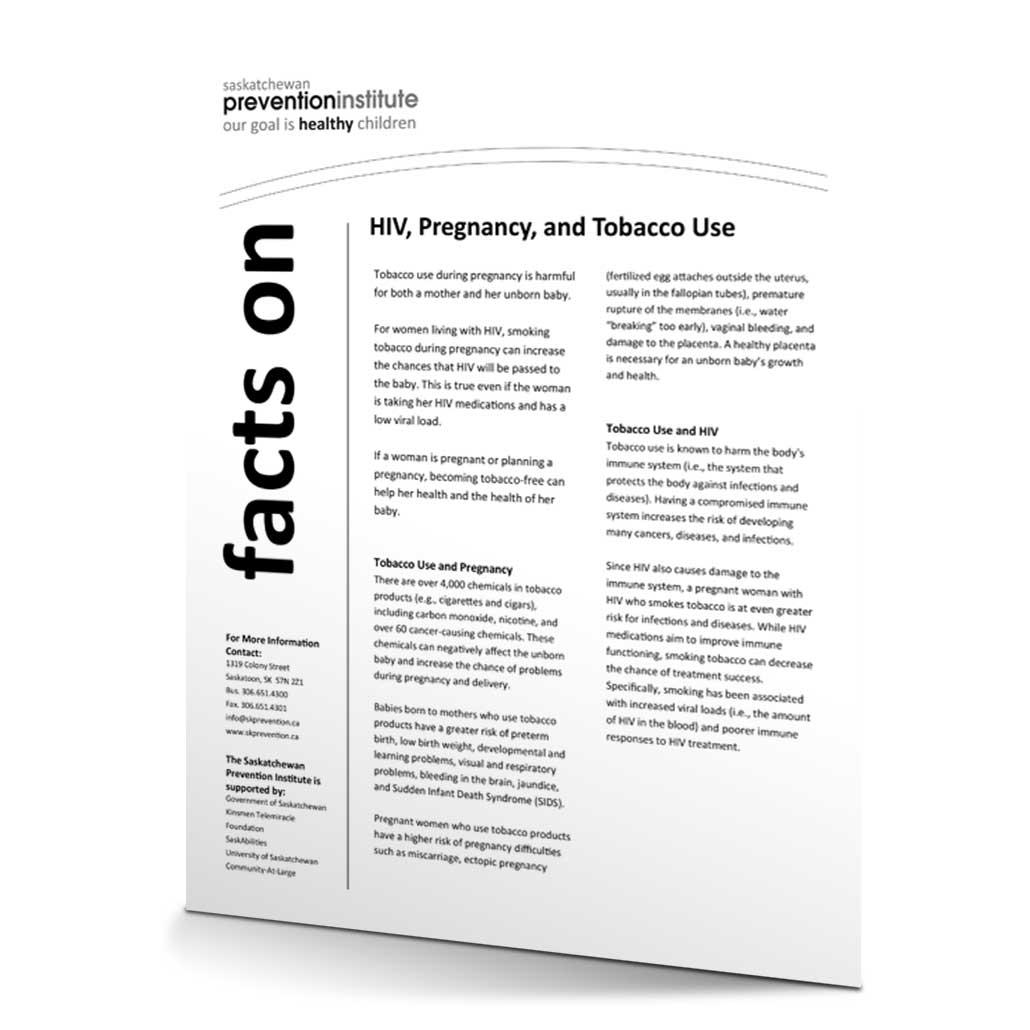7-515: HIV Smoking and Pregnancy Fact Sheet