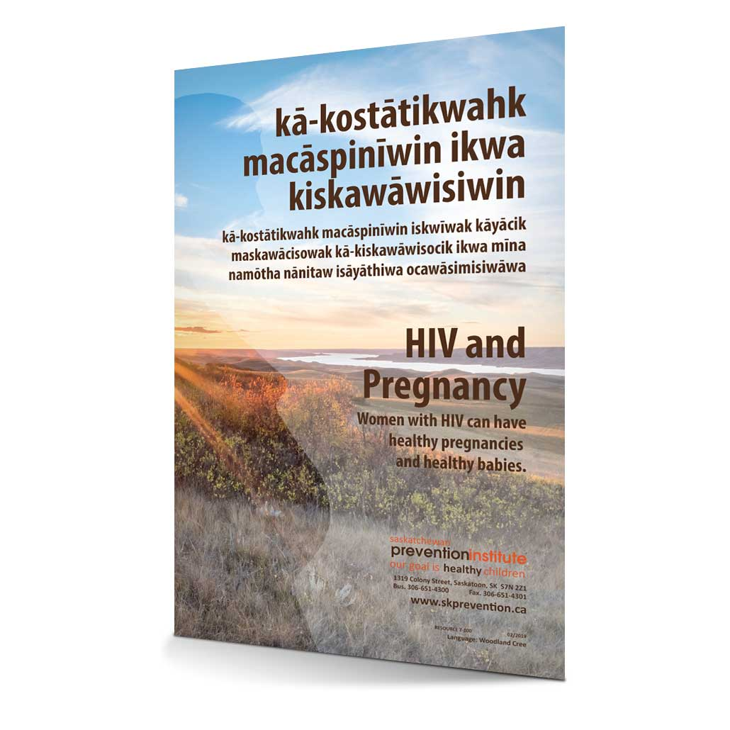7-100: HIV/AIDS and Pregnancy - Woodland Cree Translation