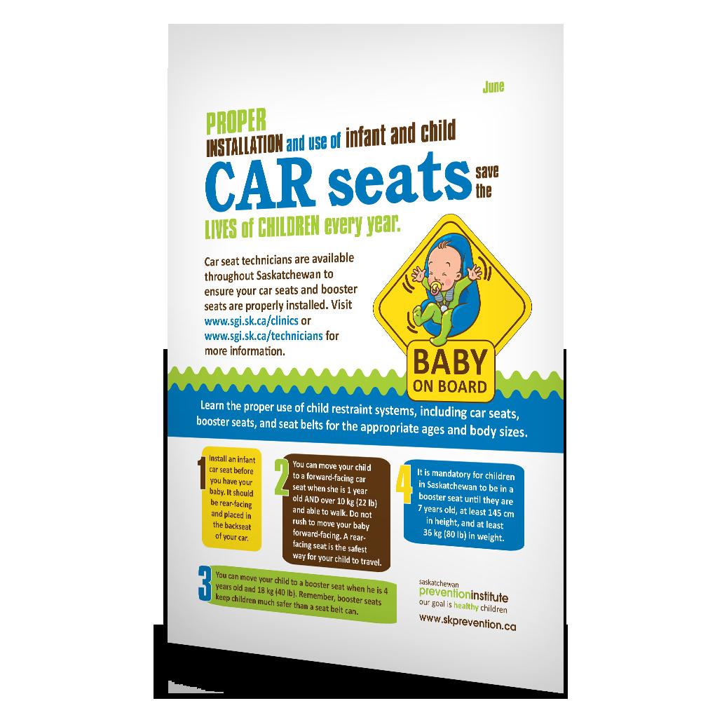 CAPC Child Passenger Safety Infographic