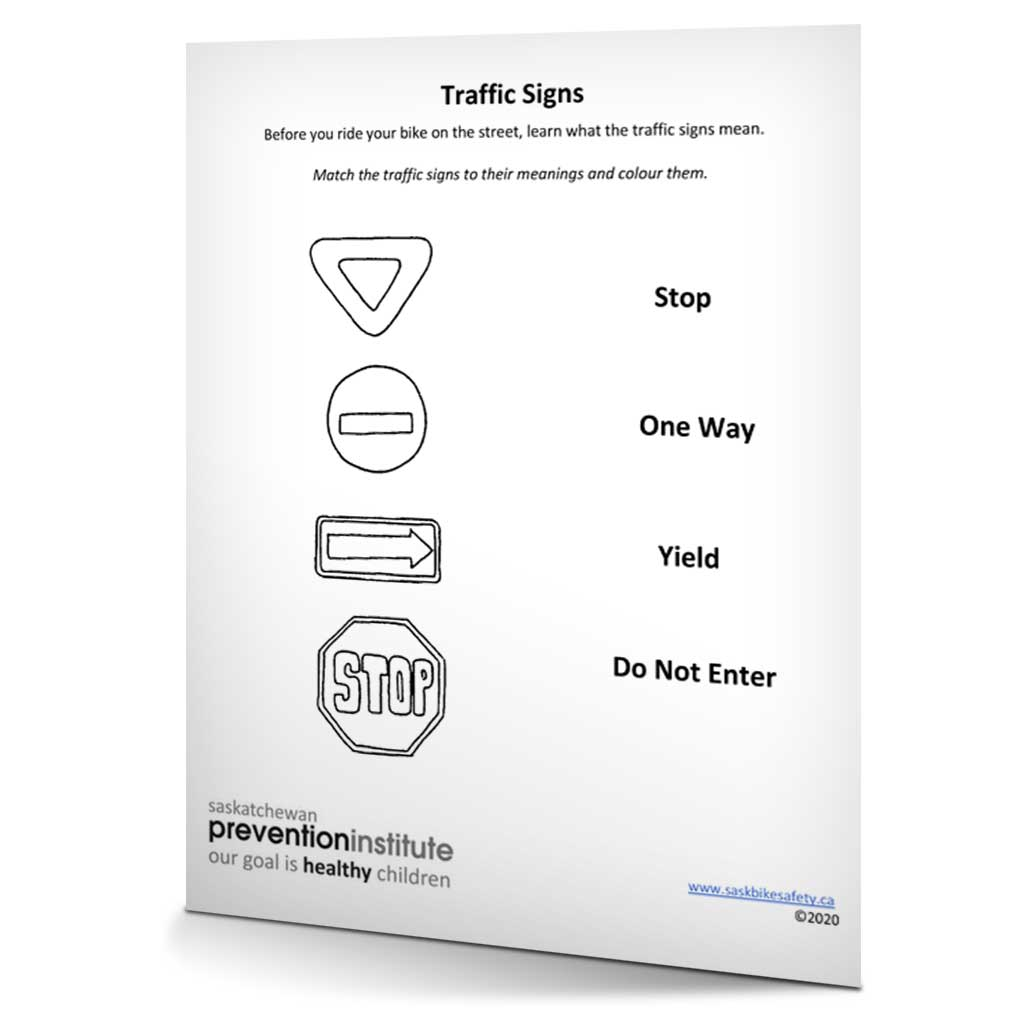 Bicycle Safety 2020 Traffic Signs