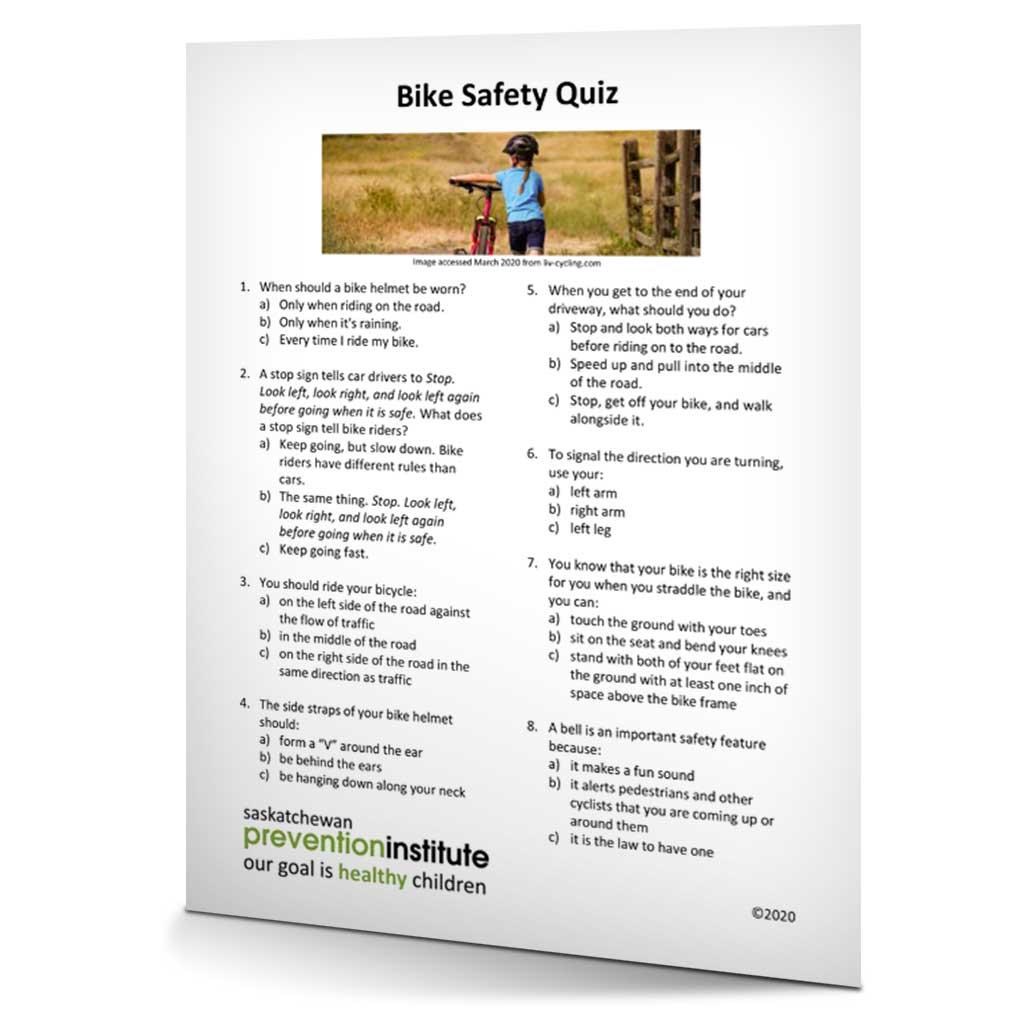 Bike-Safety-Quiz