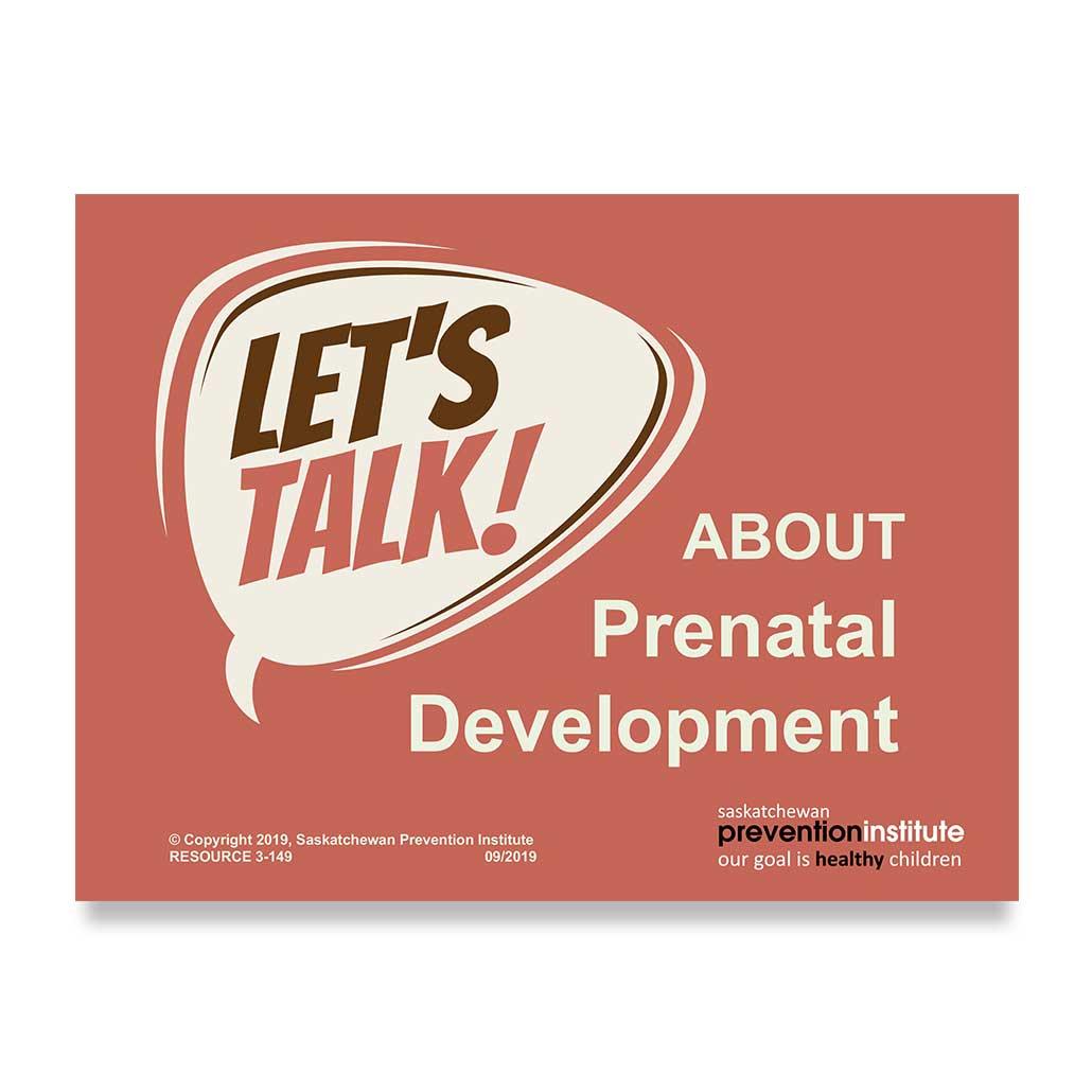 3-149: Let's Talk About Prenatal Development