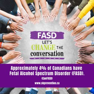 Approximately 4% of Canadians have FASD