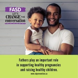 Fathers Play an Important Role in Supporting Healthy Pregnancies and Raisng Healthy Children