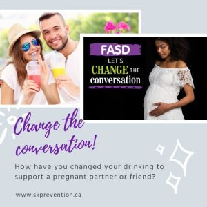 How Have You Changed Your Drinking to Support a Pregnant Partner or Friend