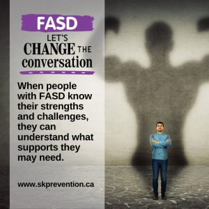 When People with Fasd Know Their Strengths and Challenges They Can Understand What Supports They May Need