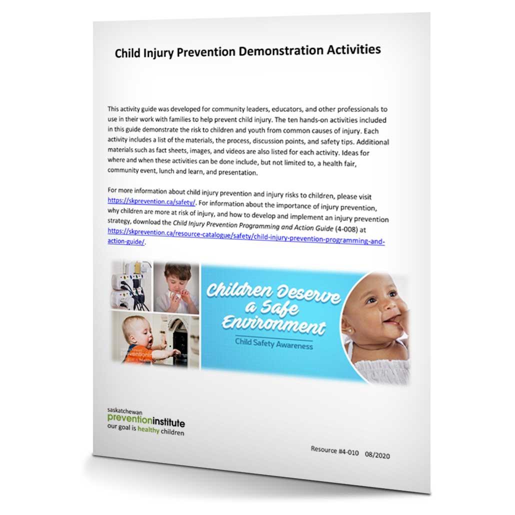 4-010: Child Injury Prevention Demonstration Activities