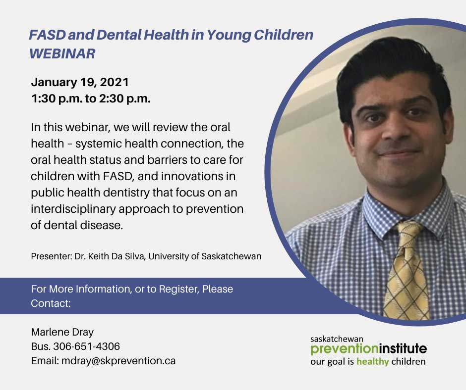 FASD and Dental Health in Young Children