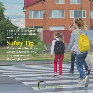 Use Intersections Don't Jaywalk