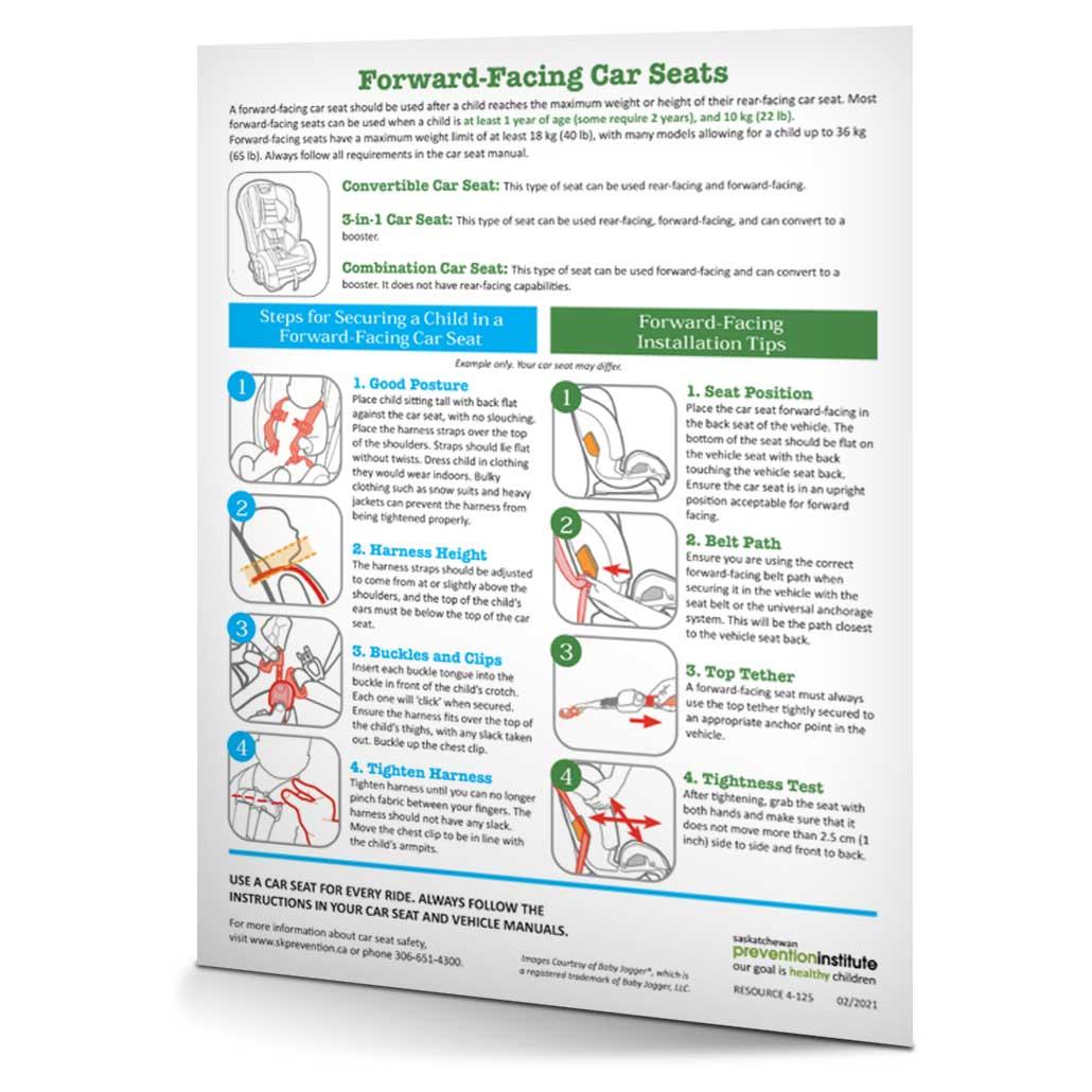 4-125: Forward Facing Car Seats