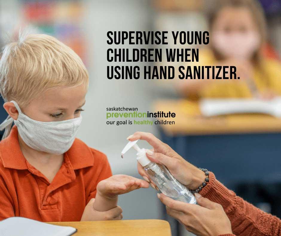 Children and Hand Sanitizer