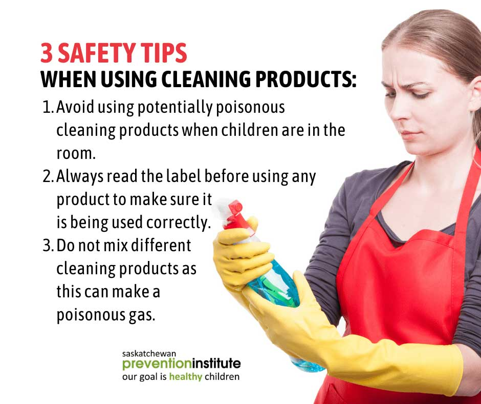 Tips for Using Cleaning Products